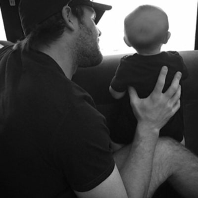 Carrie Underwood's Baby Isaiah, Husband Mike Fisher Ride in Her Tour Bus: See the Sweet Photo