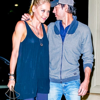 Enrique Iglesias, Anna Kournikova Resurface for Date Night — See the Super Private Couple!