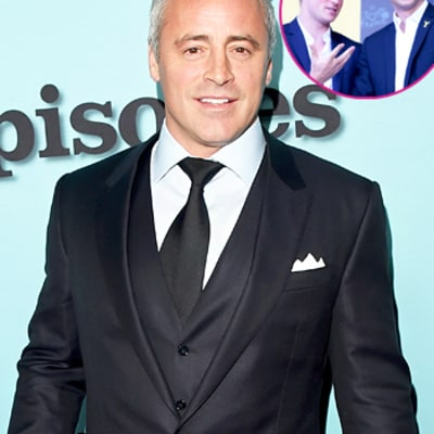 Matt LeBlanc: I Never Told Off Prince Harry and Prince William