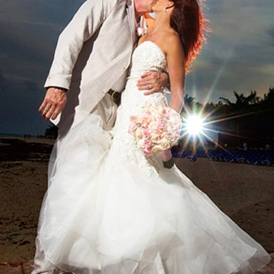 WWE Legend Diamond Dallas Page Marries Brenda Nair in Cancun, Mexico: Exclusive Photos!
