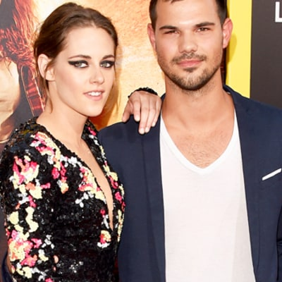 Kristen Stewart, Taylor Lautner Reunite on Red Carpet of American Ultra: Photos