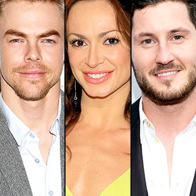 Dancing With the Stars' Season 21 Pros Revealed! Derek Hough, Karina Smirnoff, Val Chmerkovskiy Returning
