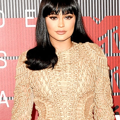 Kylie Jenner Cribs Kim Kardashian's Balmain Dress Style at the VMAs 2015: See the Photos!