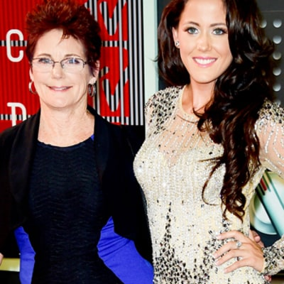 Jenelle Evans Brings a Hot Date to MTV VMAs -- Her Mom, Barbara! See the Pic