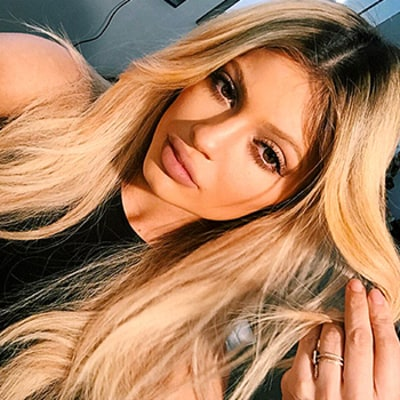 Kylie Jenner's Eyebrows Now Match Her New Blonde Hair Color