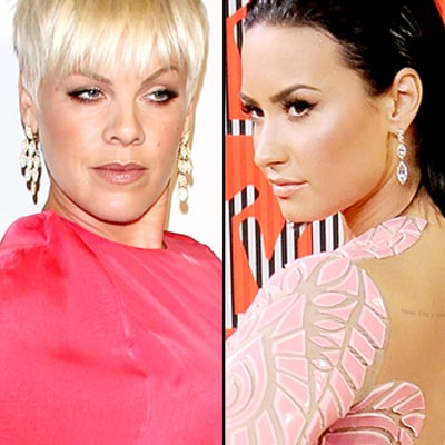 Pink Defends Herself As Demi Lovato Calls Her Out for Alleged VMAs Performance Disses: