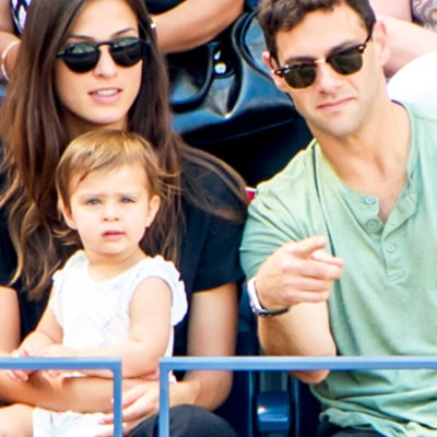 Justin Bartha Brings Daughter Asa, 16 Months, to US Open: Family Photos!