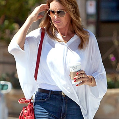 Caitlyn Jenner's Legs Look Unbelievably Long in Tight Jeans, Heels