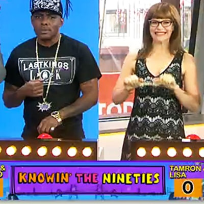 Coolio and Lisa Loeb Face Off in '90s Trivia Game, Are Surprisingly Terrible: Watch