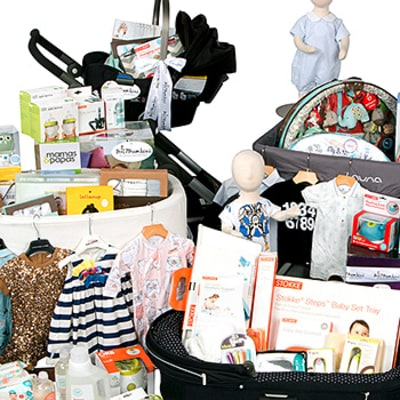 Bel Bambini Debuts a $10K Gift Basket for New Moms and Dads: Find Out What Luxe Baby Gear Is Included