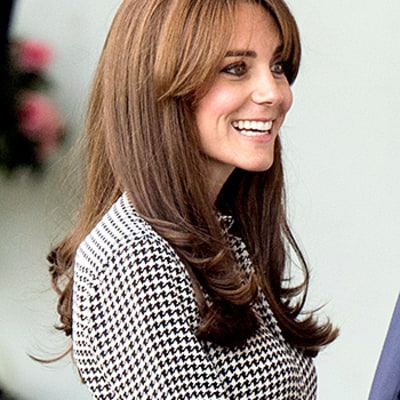 Kate Middleton's $1,595 Houndstooth Dress, Black Pumps: All the Details