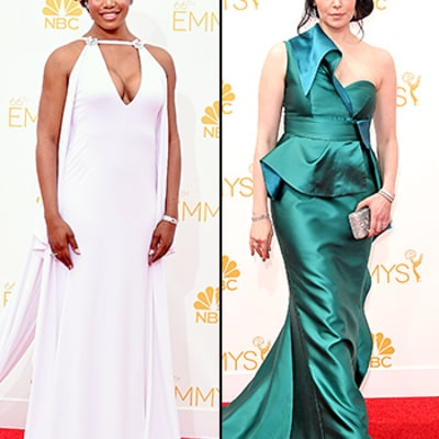 Laverne Cox, Laura Prepon, More Orange Is the New Black Stars Reveal Their Emmy Awards 2015 Prep
