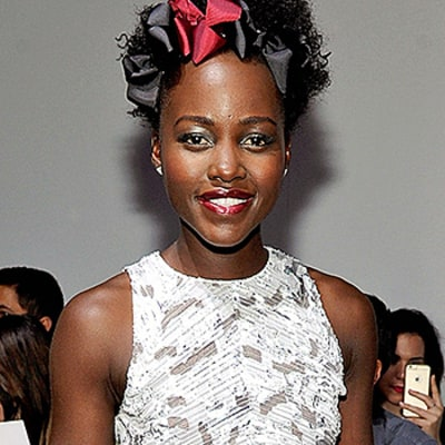 Lupita Nyong'o's Ribboned Hairstyle at NYFW: Find Out How to Get the Look