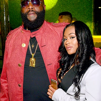 Rick Ross Is Engaged to Girlfriend Lira Galore: See Her Crazy Engagement Ring Photo