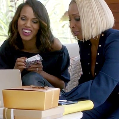 Kerry Washington, Taraji P. Henson, Mary J. Blige Boogy in New Apple Music Commercial That Aired During Emmys 2015: Watch!