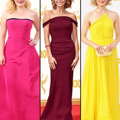 Emmys 2015 Red Carpet: See the Top Style Trends of the Night (Including Sunshine-Yellow!)