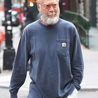 David Letterman Sports Thick White Beard Post-Retirement: Photo