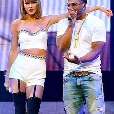 Nelly Joins Taylor Swift Onstage to Sing