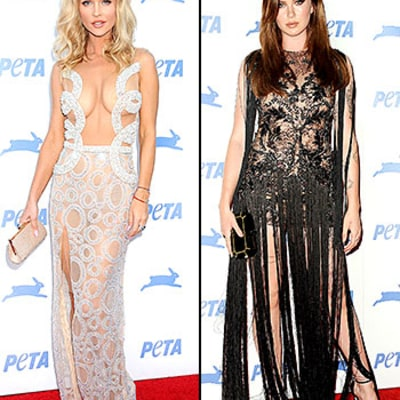 Kendall Jenner, Joanna Krupa, Ireland Baldwin Went Nearly Naked Last Night: Roundup of Celebs' Barely There Looks
