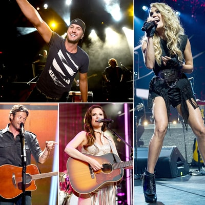Hottest Country Stars of 2015
