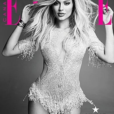 Kylie Jenner Shares Two Potential Cover Photos for Elle Canada: Vote for Your Favorite!