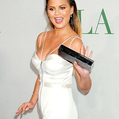 Chrissy Teigen: I'm Not Pregnant With Twins,