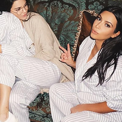 Kim Kardashian Celebrates Baby Shower With Star-Studded Pajama Party: See All the Photos