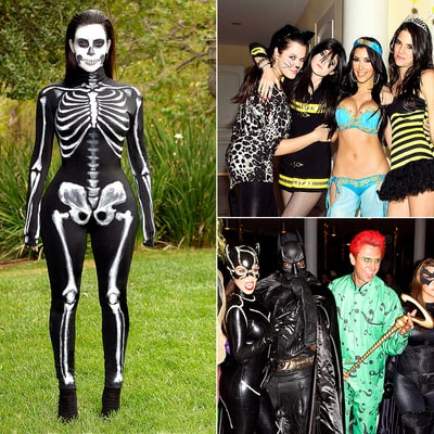 Kardashians' Halloween Costumes Through the Years!