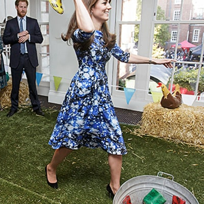 Kate Middleton Cracks Up, Has a Ball With Prince William, Prince Harry at Children's Charity Event: Adorable Photos!