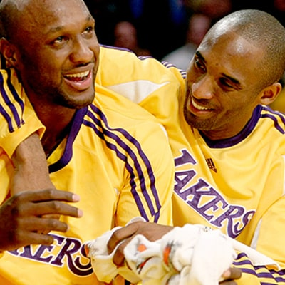 Kobe Bryant on Brother Lamar Odom: His Progress Truly Is Remarkable
