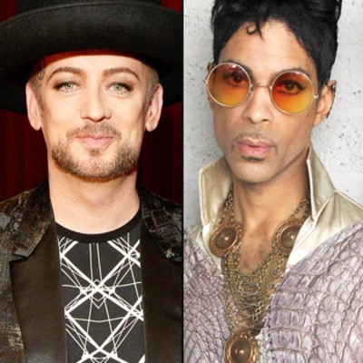 Boy George Jokingly Claims on The Voice UK That He Slept With Prince