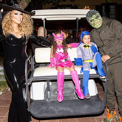 Mariah Carey Hosts Halloween Party Attended by Her Boyfriend James Packer and Ex Nick Cannon