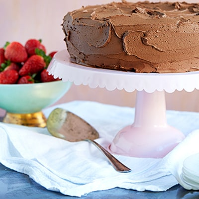 This Seven-Ingredient Gluten-Free Chocolate Cake Will Satisfy Any Sweet Tooth