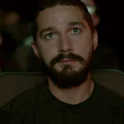 Shia LaBeouf Live Streams a Video of Himself Watching His Own Movies: Watch Now!