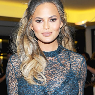 Chrissy Teigen Proudly Shows Off Her Pregnancy Thighs, Which