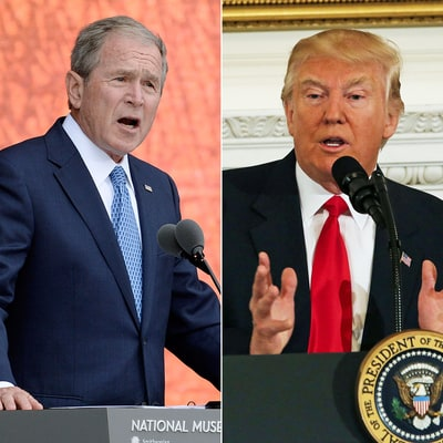 George W. Bush Criticizes Donald Trump's Media War: 'Power Can Be Addictive'