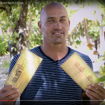 Kelly Slater and the Wave Factory: How to Enter the Surfer's Golden Ticket Giveaway
