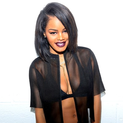 Teyana Taylor Teases Another Project With Kanye West — and She's Naked and Dipped in Gold