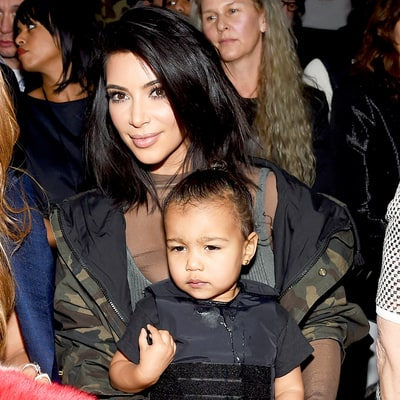 Kim Kardashian Face-Swaps With North West: 'Is This What She's Gonna Look Like?'