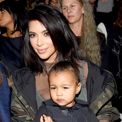Kim Kardashian Shares Sweet Snap of 'Real Friends' North and Penelope