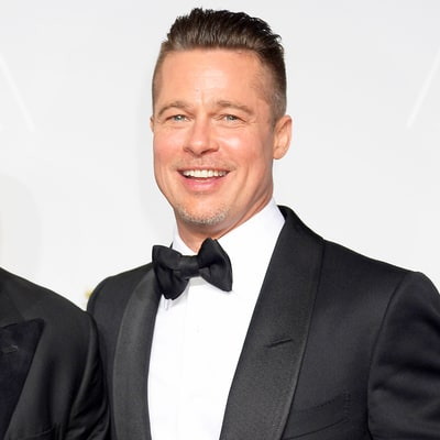 Brad Pitt Throws Party at Hotel, Brings Balloons Home to His Kids