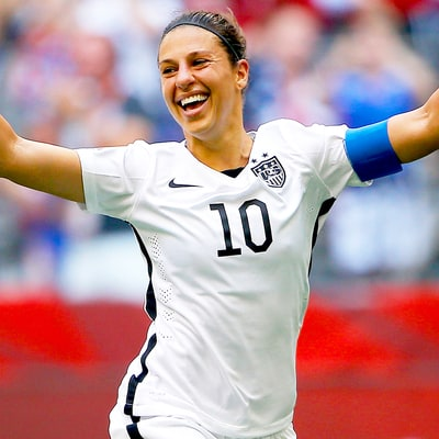 Carli Lloyd: Olympics Are About 'Continuing to Be the Best Player in the World'