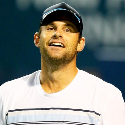 Andy Roddick Says His Bulldogs Are Son Hank's Favorite Playmates