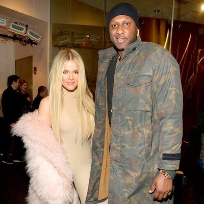 Lamar Odom Makes First Official Appearance After Hospitalization, at Kanye West's Yeezy Show: Photos
