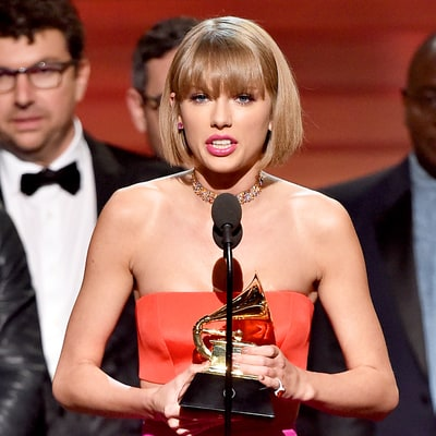 Taylor Swift Snipes Back at Kanye West in Grammys 2016 Album of the Year Speech: People Will Try to 'Take Credit for Your Fame'