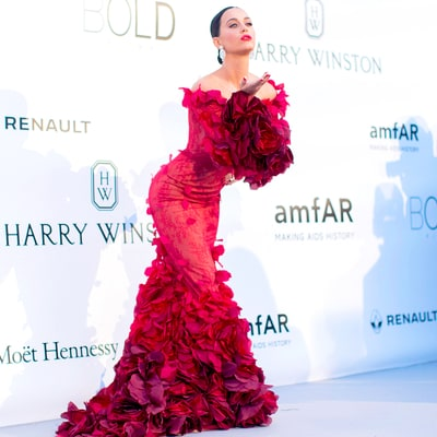 See Katy Perry's Ruffled Gown and More of the Most Dramatic Dresses at the amfAR Gala 2016