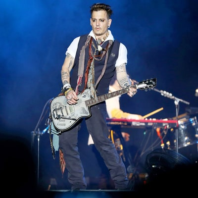 Johnny Depp Performs in Stockholm Amid Amber Heard Abuse Allegations, Boycott Threats