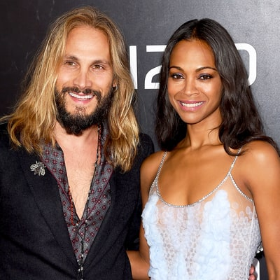 Surprise! Zoe Saldana Welcomes Third Baby With Husband Marco Perego