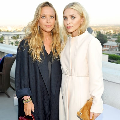 This Photo of the Olsen Twins (Wearing White!) Straight Chillin' Makes Us Feel Uncool