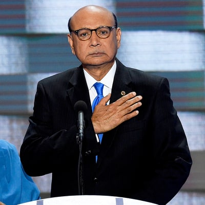 Father of Slain Muslim U.S. Soldier Tears Into Trump: 'You Have Sacrificed Nothing and No One'